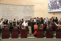 Xalapa, Ver., 30 de julio de 2015.- Sesi�n en el Congreso del Estado, en donde diputados como Alfredo G�ndara, Jes�s V�zquez y Ricardo Ahued, presentaron diferentes iniciativas.