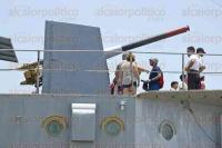 Boca del R�o, Ver., 31 de julio de 2015.- La taquilla del buque museo