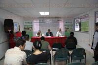 Xalapa, Ver., 31 de julio de 2015.- En conferencia de prensa anunciaron lo que ser� el Foro de Consulta Nacional para la Revisi�n de la Estrategia Nacional de Reducci�n de Emisiones por Deforestaci�n y Degradaci�n Forestal.