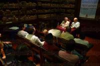 Xalapa Ver., 31 julio de 2015.- Jos� Luis Rivas present� su libro