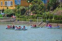 Xalapa, Ver., 1 de agosto de 2015.- Familias disfrutan del Paseo de