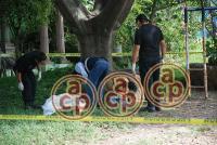Xalapa, Ver., 3 de agosto de 2015.- Hasta el momento no se ha identificado a ninguno de los dos hombres encontrados sin vida.
