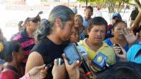 Coatzacoalcos, Ver., 3 de agosto de 2015.- Invasores de Rab�n Grande, en Villa Allende, se presentaron este lunes en las oficinas de Gobernaci�n para entablar pl�ticas con el titular, Oliver Damas de los Santos.