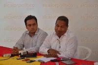 Xalapa, Ver., 4 de agosto de 2015.- En conferencia de prensa, Rafael Carbajal dio a conocer la postura del Partido del Trabajo respecto al caso de Rub�n Espinosa, fotoperiodista asesinado.