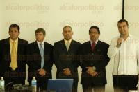 Veracruz, Ver., 27 de agosto de 2015.- Primer Foro Empresarial 2015, �Conectando para prosperar�, en el sal�n de eventos del Consejo Coordinador Empresarial.
