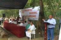 Papantla, Ver., 27 de agosto de 2015.- Inici� el XIII Encuentro Nacional de Escuelas Campesinas con la tem�tica