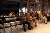 Xalapa, Ver., 27 de agosto de 2015.- Presentaci�n de la novela �Antu�n� de Jos� Luis Cabada Ramos, en la Casa del Lago; lo acompa�aron Marina Cu�llar, Rafael Ant�nez y Agust�n del Moral.