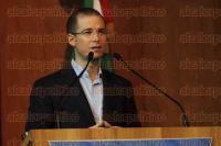M�xico, D.F, 29 de agosto de 2015.- Ricardo Anaya encabez� su primera sesi�n extraordinaria del Consejo Nacional del PAN; estuvo presente Gustavo Madero.
