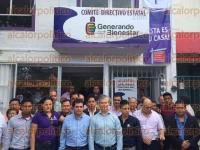 Xalapa, Ver., 31 de agosto de 2015.- Encabez� Gerardo Buganza la inauguraci�n del Comit� Directivo Estatal de Generando Bienestar, ubicado en M�rtires 28 de Agosto.