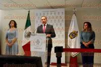 Xalapa, Ver., 31 de agosto de 2015.- El fiscal general, Luis �ngel Bravo Contreras en conferencia de prensa dio a conocer el porcentaje de personas desaparecidas y localizadas de 2006 a 2015, en el Estado.