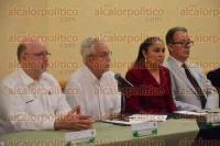 Xalapa, Ver., 1 de septiembre de 2015.- La rectora de la Universidad Veracruzana, Sara Ladr�n de Guevara, inaugur� el Primer Congreso Internacional CEDAR-V:
