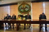 Xalapa, Ver., 1 de septiembre de 2015.- Sesi�n del pleno del Consejo de la Judicatura del Poder Judicial del Estado de Veracruz, presidida por el magistrado Alberto Sosa Hern�ndez.