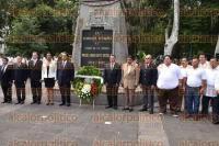 Xalapa, Ver., 2 de Septiembre de 2015.- Rinde guardia de honor la Direcci�n  General de Transporte P�blico, encabezada por Roberto L�pez Santoyo en el marco de las guardias de honor 2015.