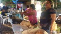 Omealca, Ver., 4 de septiembre de 2015.- Campesinos de 20 comunidades reclaman a PEMEX rehabilitaci�n de caminos que han destrozado; el Alcalde mencion� que de no llegar a una soluci�n, tomar�n las instalaciones de PEMEX en Ciudad Mendoza.
