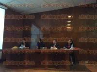 Xalapa, Ver., 4 de septiembre de 2015.- Contin�an las conferencias magistrales como parte del programa del Seminario Permanente de Derecho Internacional, en el auditorio de la Facultad de Derecho.