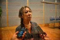 Xalapa Ver., 4 de septiembre de 2015.- Presentan en conferencia de prensa los diplomados de Capacitaci�n y Actualizaci�n de la UV