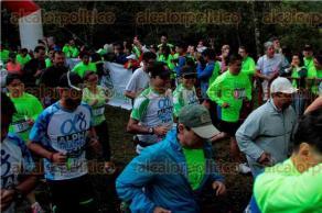 Xalapa, Ver., 4 de octubre.- Con �xito este domingo efect�o la cuarta Carrera Verde, para cuidar el Santuario del Bosque de Niebla que organiz� el Instituto de Ecolog�a (INECOL).