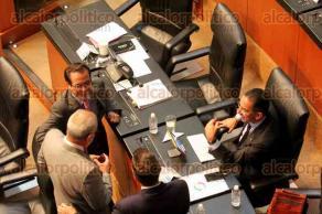 M�xico, DF., 7 de octubre de 2015.- El senador Jos� Yunes Zorrilla present� el posicionamiento del PRI durante la comparecencia del secretario de Hacienda, Luis Videgaray, como parte de la glosa del III Informe de Gobierno del presidente Enrique Pe�a Nieto.