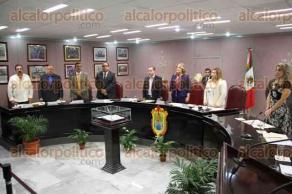Xalapa, Ver., 7 de octubre de 2015.- Sesi�n solemne en la sala Venustiano Carranza del Congreso del Estado.