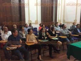 Xalapa, Ver., 8 de octubre 2015.- En el marco del Diplomado