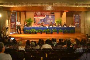 Xalapa Ver., 9 de octubre de 2015.- Foro Nacional de Periodismo denominado