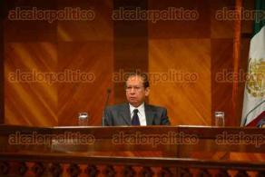 Xalapa Ver., 24 noviembre de 2015.- Sesi�n del Tribunal Electoral del Estado de Veracruz presidida por el magistrado presidente del TEEV, Daniel Ruiz Morales.