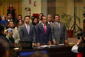 Xalapa, Ver., 24 de noviembre de 2015.- Comparece Alfredo Ferrari Saavedra, titular de SEDESOL estatal, como parte de la glosa del V Informe de actividades del Gobierno del Estado.