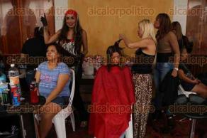 Veracruz, Ver., 25 de noviembre de 2015.- Flippy Morales de Franco, dirigente de la asociaci�n l�sbico-gay