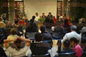 Xalapa, Ver., 25 de noviembre de 2015.- Presentaci�n del libro: