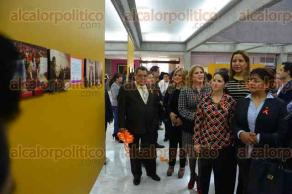 Xalapa, Ver., 26 de noviembre de 2015.- Inauguraci�n de la muestra fotogr�fica del