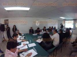 Banderilla, Ver., 27 de noviembre de 2015.- Se instal� el Comit� Estatal de Sanidad Forestal de Veracruz en la delegaci�n de CONAFOR.