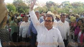 Papantla, Ver., 28 de noviembre de 2015.- El gobernador Javier Duarte de Ochoa arrib� al parque tem�tico