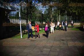 Xalapa, Ver., 30 de noviembre de 2015.- Ingresan acad�micos a la Sesi�n Ordinaria del Consejo Universitario General de la Junta de Gobierno y Consejos Universitarios Regionales de la Universidad Veracruzana, celebrado en el MAX.