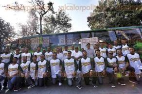 Xalapa, Ver., 30 de noviembre de 2015.- El equipo de b�isbol