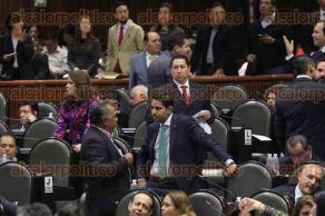M�xico, D.F., 1 de diciembre de 2015.- Legisladores presentan diversas iniciativas ante el pleno de la C�mara de Diputados en una sesi�n relajada y con ausencia por momentos de los diputados.