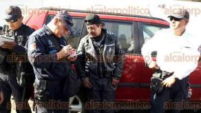 Veracruz, Ver., 7 de febrero de 2016.- Im�genes de actuaci�n de la Polic�a con personas que encabezaron ri�as, durante Carnaval de Veracruz 2016.