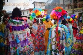 Coyolillo, Actopan, Ver., 9 de febrero de 2016.- Con mucho color y alegr�a se desarroll� el Carnaval afromestizo de esta poblaci�n, donde participaron cientos de personas.