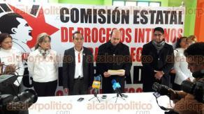 Xalapa, Ver., 10 de febrero de 2016.- El representante del Partido Cardenista ante el OPLE, en conferencia de prensa, asegur� que existe una gran inequidad entre el financiamiento de partidos como PRI y PAN y los dem�s aspirantes a la gubernatura.