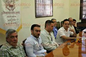 Veracruz, Ver., 11 de febrero de 2016.- Rueda de prensa de la Asociaci�n de Hoteles y Moteles de Veracruz para informar sobre la derrama econ�mica que dej� el Carnaval en el sector.