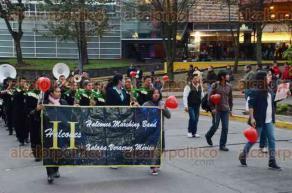Xalapa, Ver., 12 de febrero de 2016.- Desfile de la Amistad