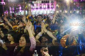 Xalapa, Ver., 12 de febrero de 2016.- Al t�rmino del Desfile de la amistad