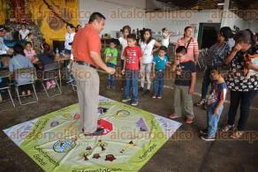 Xalapa, Ver., 28 abril de 2016.- Feria Ambiental y de Cultura del Agua al celebrar el D�a mundial de la tierra y D�a del ni�o, en las instalaciones de Maquinaria de Veracruz (MAVER) de la SIOP.