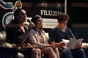 Xalapa, Ver., 28 de abril de 2016.- En el auditorio del �gora de la Ciudad se present� la revista electr�nica