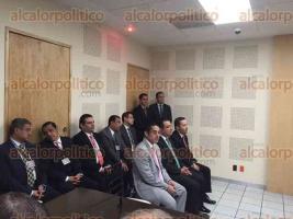 Xalapa, Ver., 29 de abril de 2016.- Ceremonia de aviso del inicio de funciones del nuevo Sistema de Justicia Penal en el Poder Judicial de la Federaci�n, asisti� el alcalde Am�rico Z��iga.