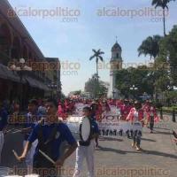 C�rdoba, Ver., 29 de abril de 2016.- Personal de la 16 Junta Distrital del INE, en caravana para promover la participaci�n ciudadana en el proceso local electoral del pr�ximo 5 de junio.