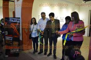 Xalapa, Ver., 3 de mayo de 2016.- La tarde de este martes, inauguraron la exposici�n �De Estampa�, del joven Leobardo Ch�vez Mu�oz, la cual estar� a partir de este martes hasta el 15 de mayo en el Centro Recreativo Xalape�o.