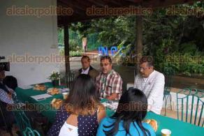 Xalapa, Ver., 4 de mayo de 2016.- Conferencia de prensa del INECOL para convocar a formar parte de la quinta generaci�n del diplomado