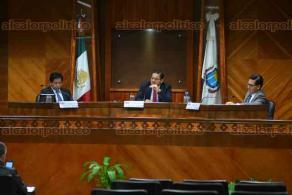 Xalapa, Ver., 5 de mayo de 2016.- Sesi�n del Tribunal Electoral de Veracruz donde discutieron la ratificaci�n de candidatos por la v�a independiente.