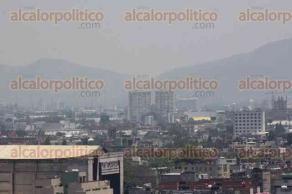 Ciudad de M�xico, 6 de mayo de 2016.- Tras levantar la contingencia ambiental en la Megal�polis, as� luce la Ciudad de M�xico en la zona centro, mejora la visibilidad pero contin�a la bruma.