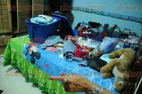 Veracruz, Ver., 26 de mayo de 2016.- Nuevamente supuestos agentes federales de la SEIDO allanaron domicilio particular, ahora en la colonia Pocitos y Rivera de este puerto, donde generaron destrozos y robaron objetos de valor.